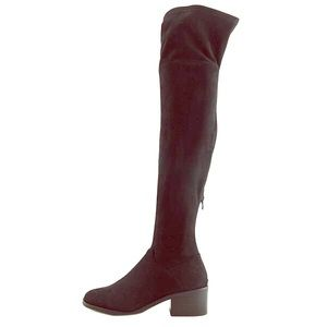 Steve Madden Gabbie Round Toe Knee High Boot